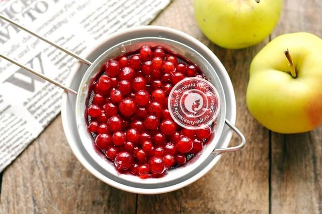 Компот из красной смородины и яблок на 3-х литровую банку на зиму - простой рецепт от автора