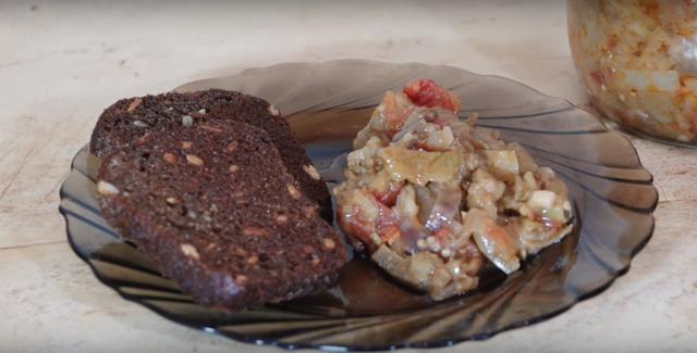 Икра из баклажанов без стерилизации через мясорубку на зиму - рецепт с пошаговыми фото