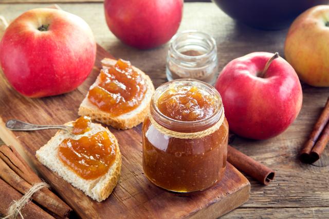 Яблочное пюре с сахаром на зиму - простой пошаговый рецепт