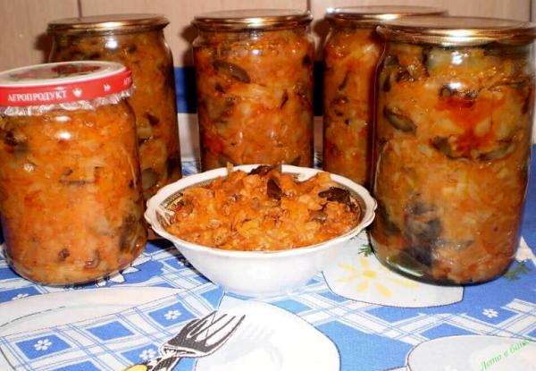 Солянка с грибами, капустой и помидорами на зиму - рецепт с пошаговыми фото