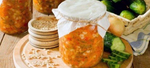 Рассольник с перловкой, огурцами и томатной пастой на зиму - 9 рецептов в банках с пошаговыми фото