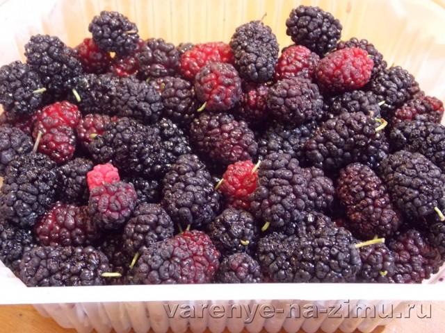 Варенье из шелковицы на зиму - рецепт с пошаговыми фото