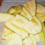 Жареные кабачки «Тещин язык» на зиму - пошаговый рецепт приготовления с фото