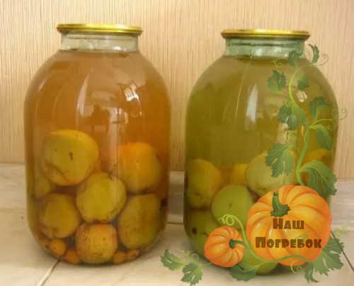 Компот из груш на 3 литровую банку без стерилизации на зиму - 5 рецептов с фото пошагово