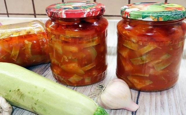 Кабачки на зиму - 5 вкусных и простых рецептов с фото пошагово