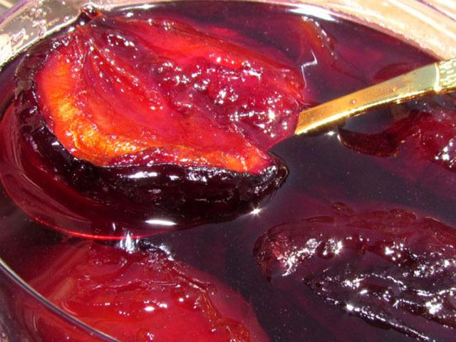 Варенье из слив на без стерилизации зиму - пошаговый рецепт с фото