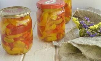 Перец в томатном соке без стерилизации на зиму - рецепт с пошаговыми фото