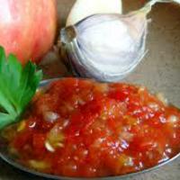 Острая аджика из кабачков - рецепт на зиму с пошаговыми фото