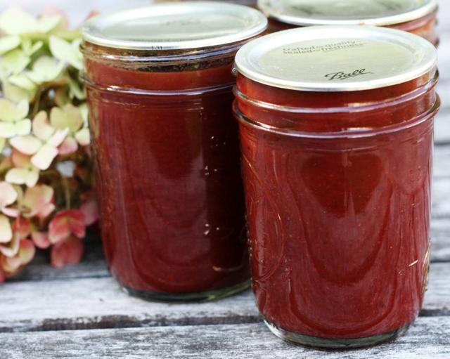 Кетчуп из сливы на зиму - рецепт приготовления с пошаговыми фото