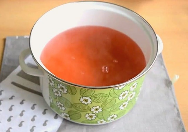 Компот из абрикосов и слив без стерилизации на зиму - пошаговый рецепт с фото