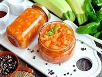 Салат из кабачков Тещин язык на зиму - рецепт с фото пошагово