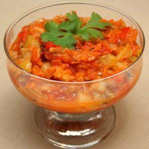 Салат из кабачков без стерилизации на зиму - рецепт с пошаговыми фото
