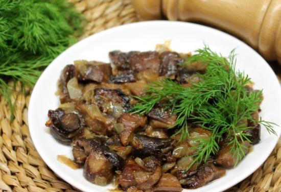 Маринованная рядовка тополевая на зиму - рецепт с пошаговыми фото