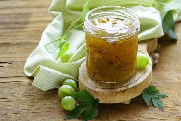 Варенье из крыжовника с лимоном без варки на зиму - простой пошаговый рецепт