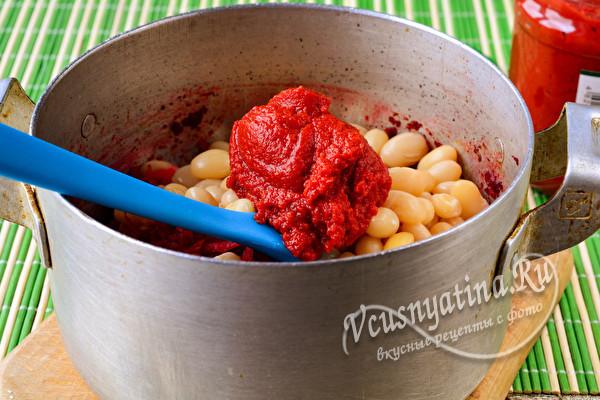 Салат из свеклы и фасоли на зиму - простой пошаговый рецепт