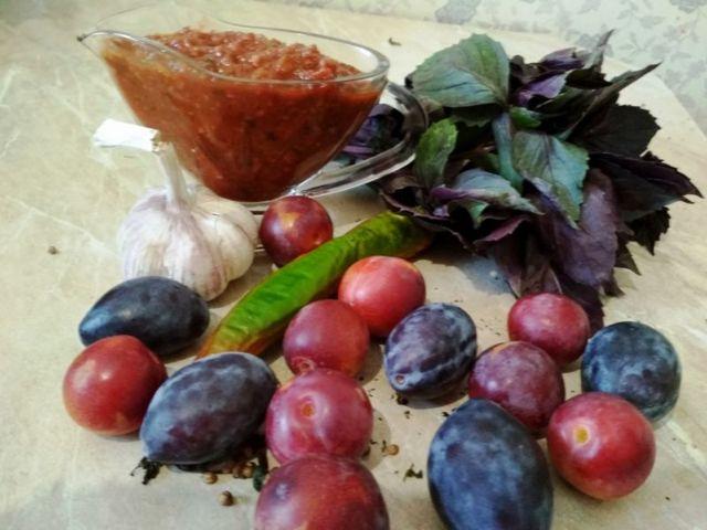 Соус из слив к мясу на зиму - 5 очень вкусных рецептов с фото пошагово