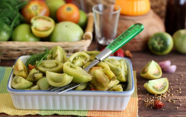 Зеленые помидоры без стерилизации на зиму - 5 простых рецептов с фото пошагово