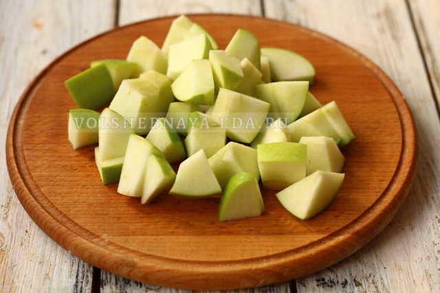 Квашеная капуста с яблоками антоновка на зиму - простой пошаговый рецепт