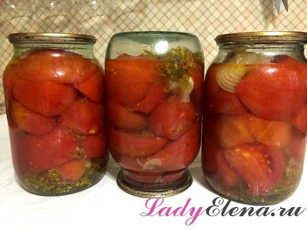Салаты из помидоров на зиму - 283 рецепта самых вкусных с пошаговыми фото