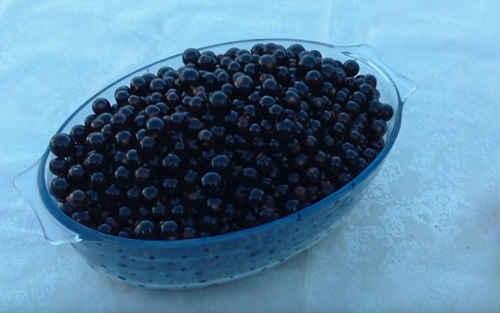 Черная смородина с сахаром протертая блендером на зиму - пошаговый рецепт с фото