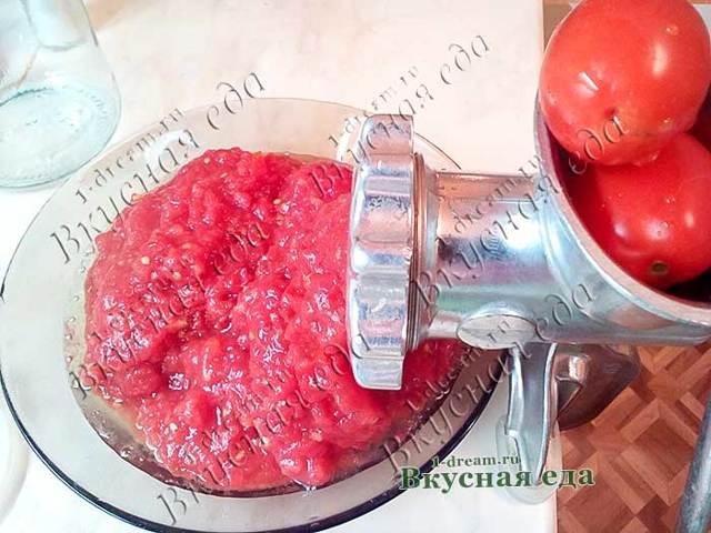 Кетчуп из помидоров с перцем без уксуса на зиму - рецепт с пошаговыми фото