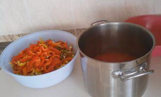Лечо без уксуса и масла на зиму - простой пошаговый рецепт