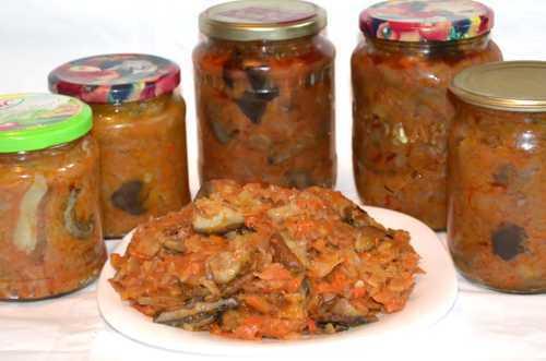 Солянка с лисичками на зиму - рецепт с пошаговыми фото