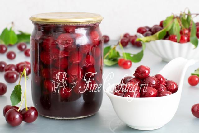 Вишня в собственном соку на зиму - 33 рецепта с пошаговыми фото