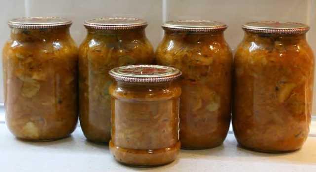 Солянка с капустой на зиму - простой пошаговый рецепт