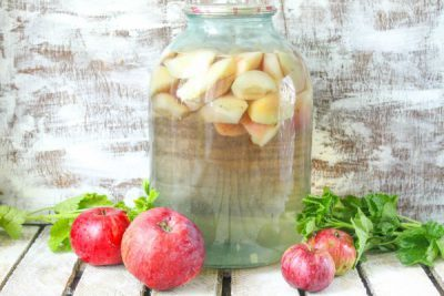 Компот из арбуза и яблок на зиму - вкусный рецепт с пошаговыми фото