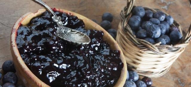 Варенье из черники пятиминутка на зиму - пошаговый рецепт с фото