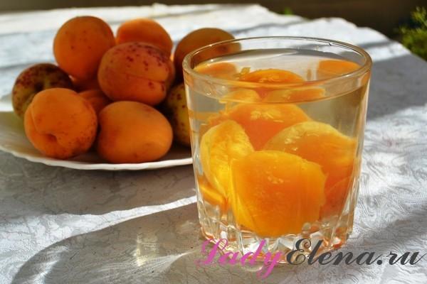 Компот из абрикосов на 3 литровую банку на зиму - 5 простых рецептов с фото пошагово
