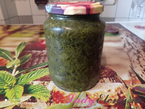 Щавель с солью на зиму в банках - вкусный рецепт с пошаговыми фото