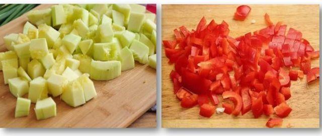 Лечо из кабачков и перца на зиму - рецепт приготовления с пошаговыми фото