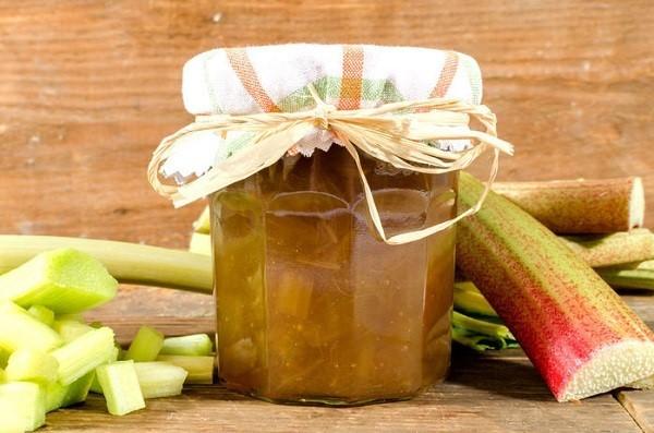 Варенье из ревеня на зиму - рецепт приготовления с пошаговыми фото