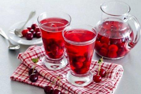 Компот из черешни на зиму - 24 рецепта простых и вкусных с пошаговыми фото