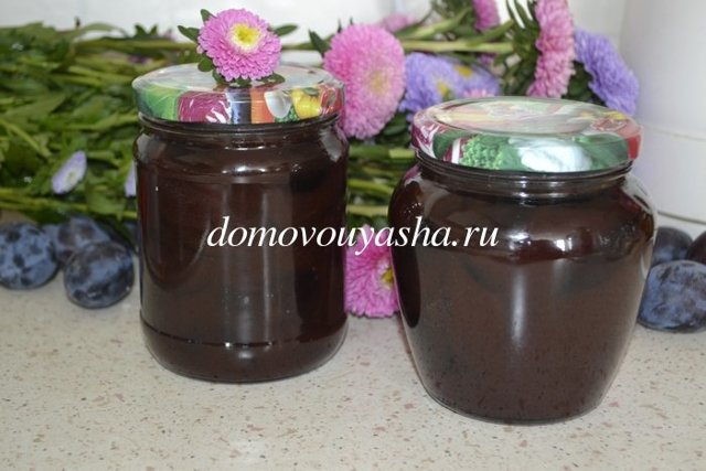 Варенье из сливы с какао на зиму - 5 рецептов с фото пошагово