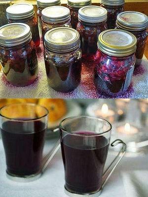 Компот из черники с лимонной кислотой на зиму - рецепт на 3-х литровую банку с пошаговыми фото