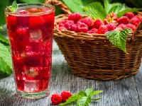 Компот из черешни и малины на зиму - простой рецепт от автора