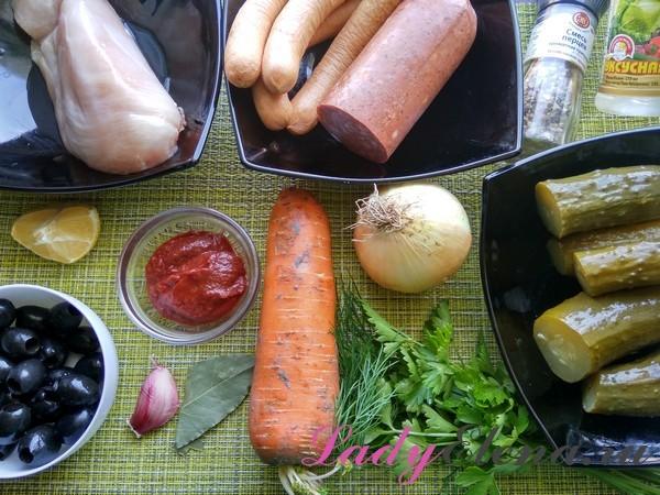 Солянка - легкий рецепт приготовления с пошаговыми фото