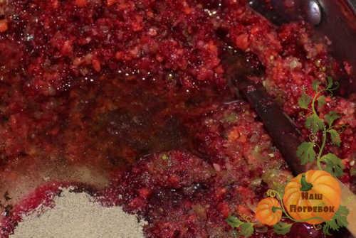 Свекла через мясорубку на зиму - простой пошаговый рецепт