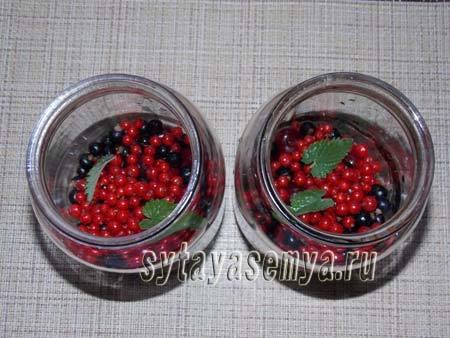 Компот из вишни и смородины на зиму - 9 рецептов в банках с пошаговыми фото
