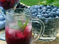 Компот из черники и красной смородины на зиму - рецепт с пошаговыми фото