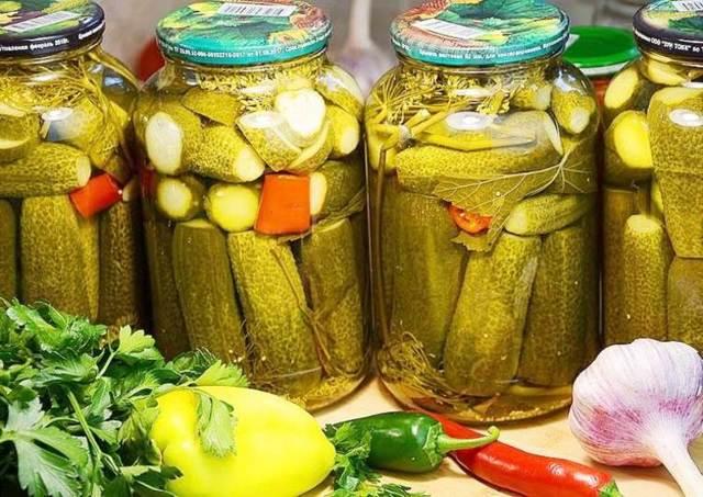 Огурцы на зиму - 5 самых вкусных рецептов с фото пошагово