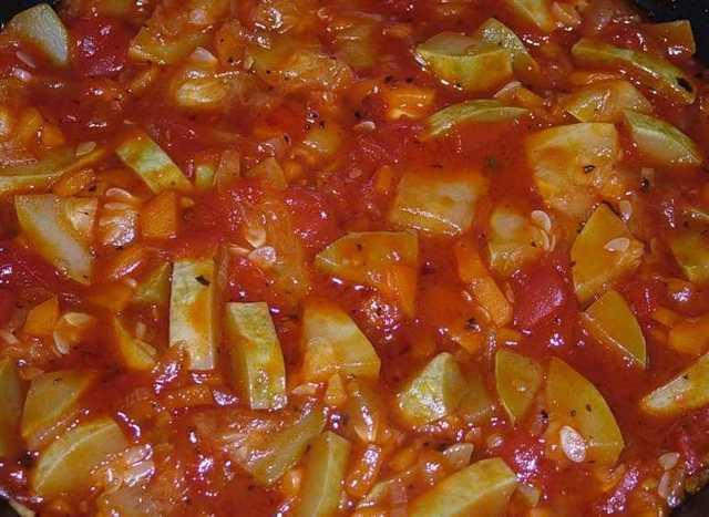 Жареные кабачки в томатном соусе на зиму - рецепт приготовления с пошаговыми фото