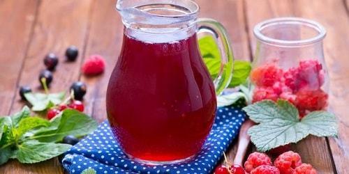 Компот из вишни и малины на 3-х литровую банку на зиму - простой рецепт от автора