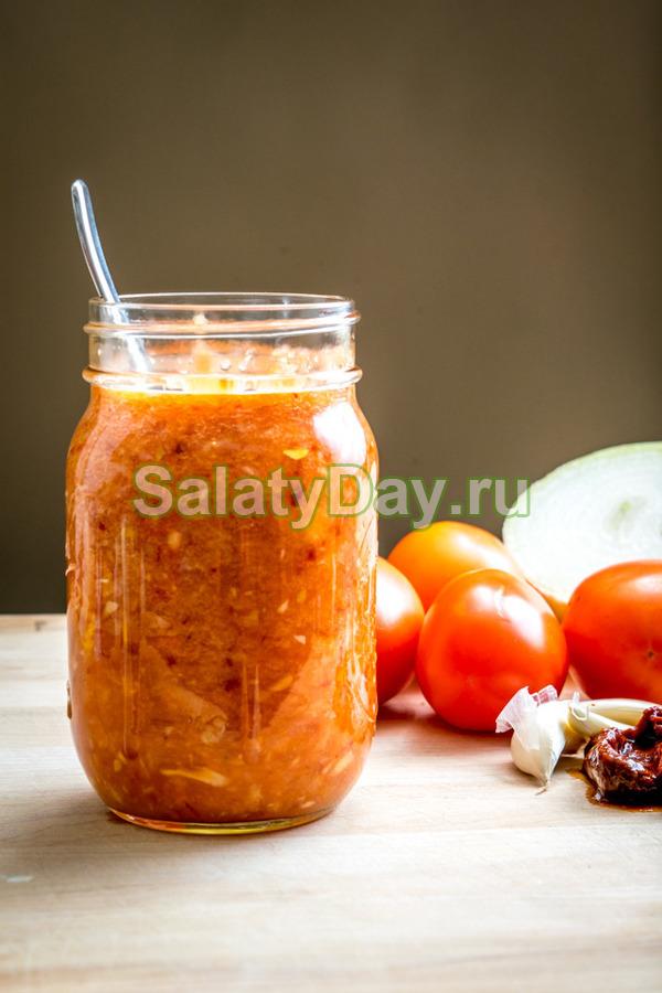 Салат Охотничий без капусты на зиму - рецепт с пошаговыми фото