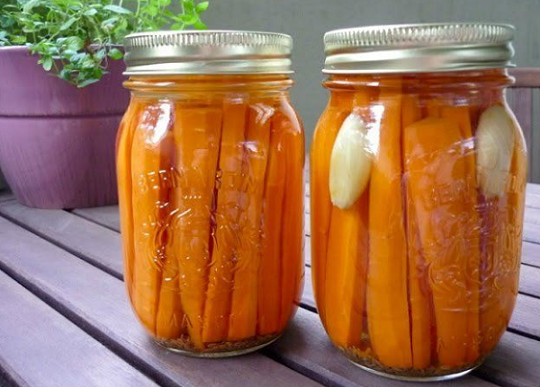 Морковь на зиму в банках - 5 очень вкусных рецептов с фото пошагово