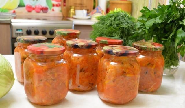 Солянка на зиму болгарским перцем - простой пошаговый рецепт