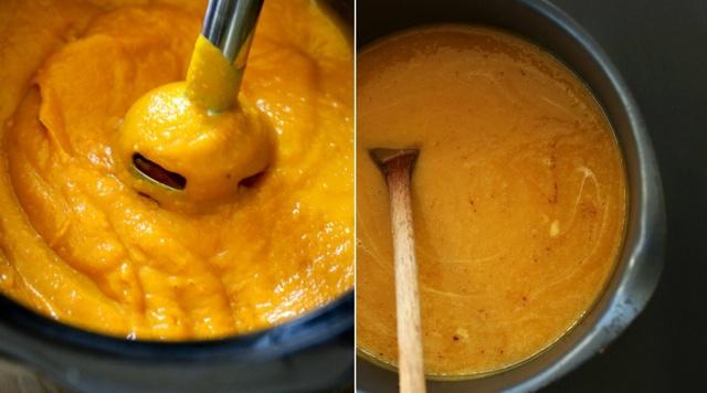 Морковно-тыквенный сок на зиму - простой пошаговый рецепт